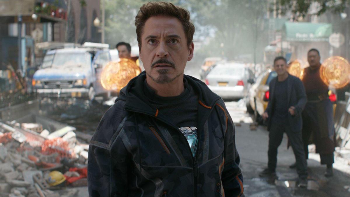 Tony Stark and his glowing heart