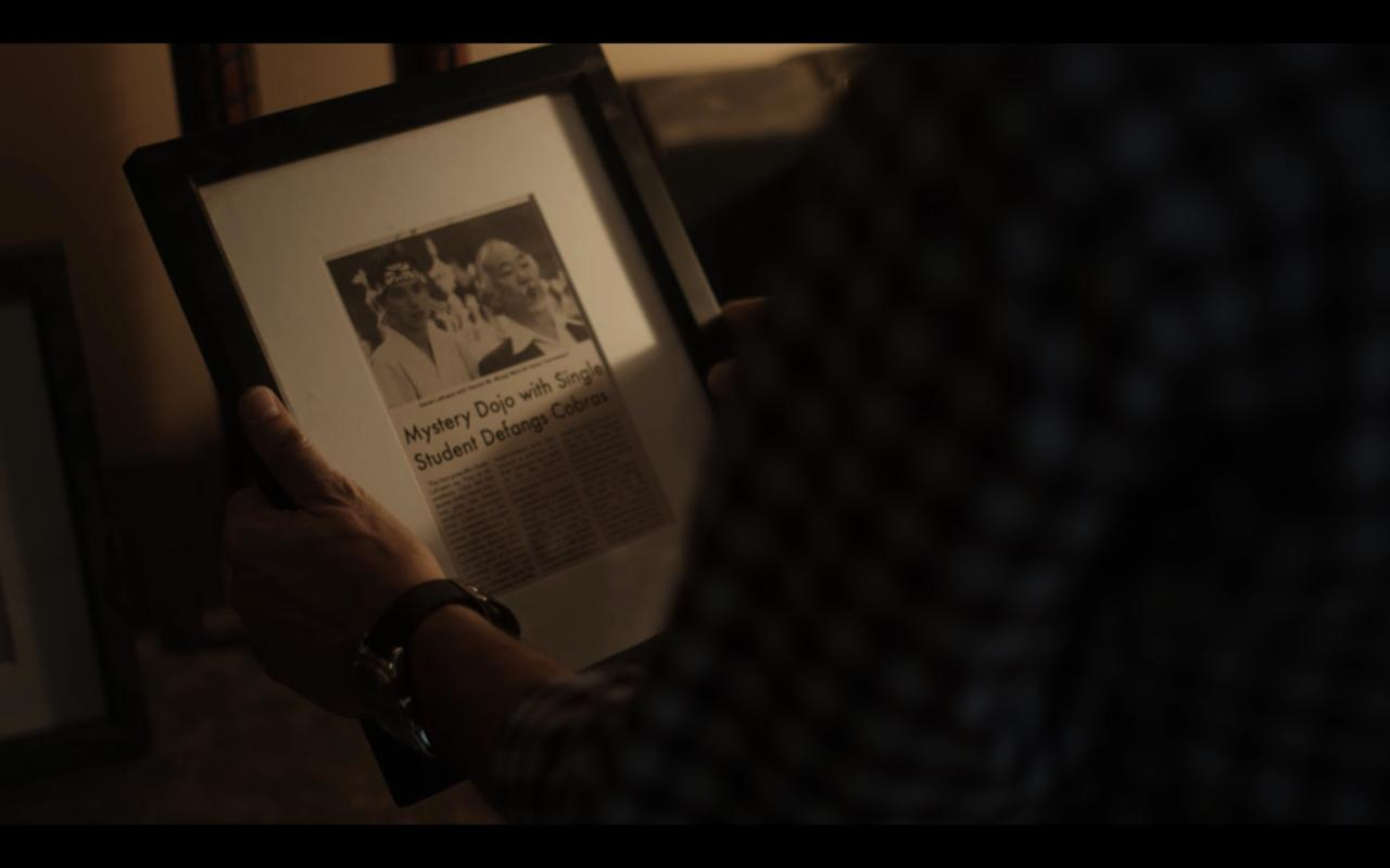7. A glimpse of Mr. Miyagi