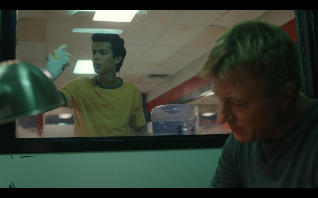 8. Washing windows means nothing in Cobra Kai