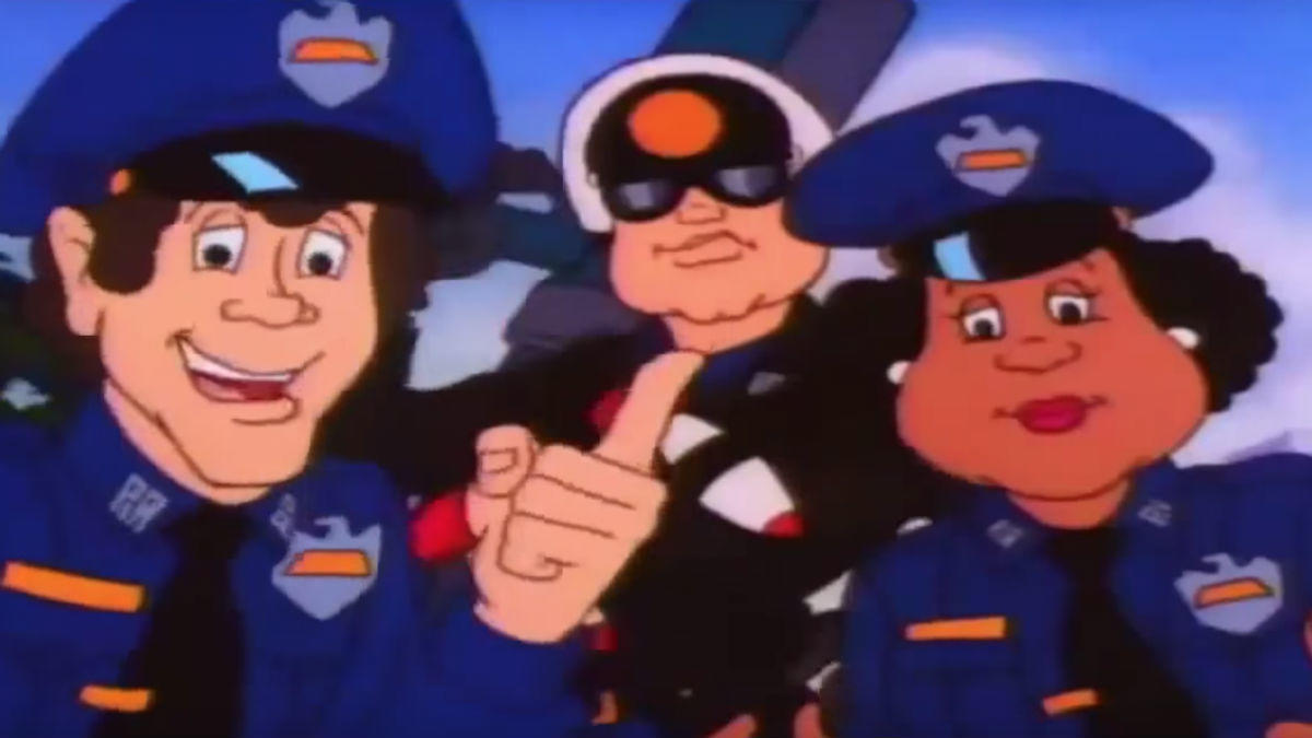 11. Police Academy: The Animated Series (1988-1989)