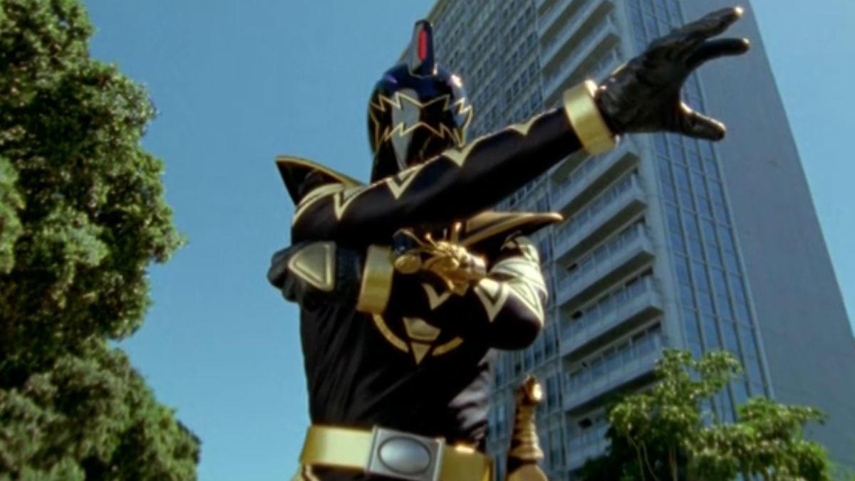 4. Black Dino Thunder Ranger