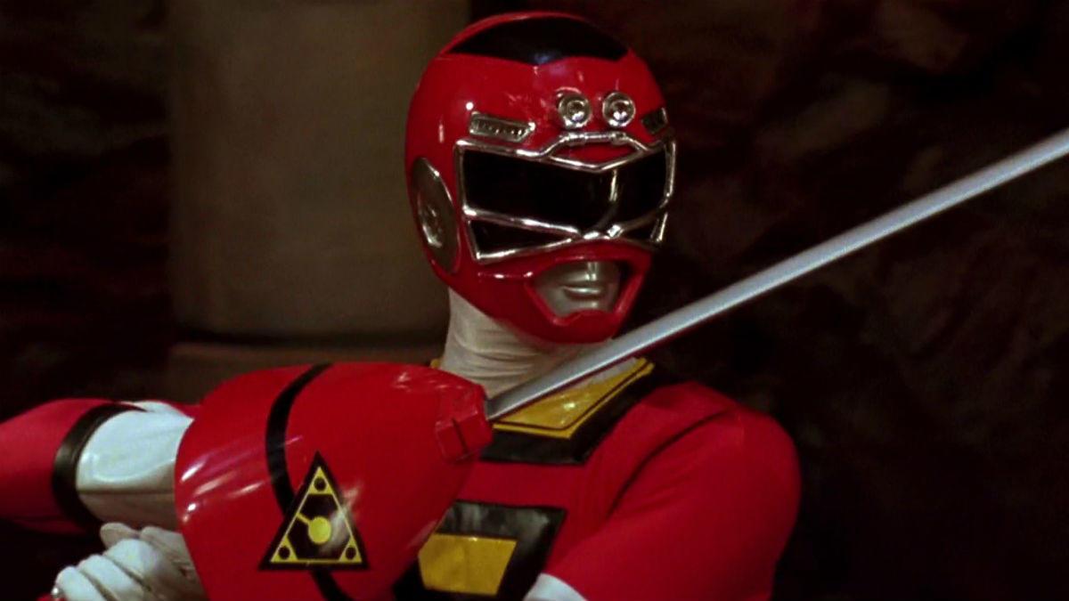 5. Red Turbo Ranger