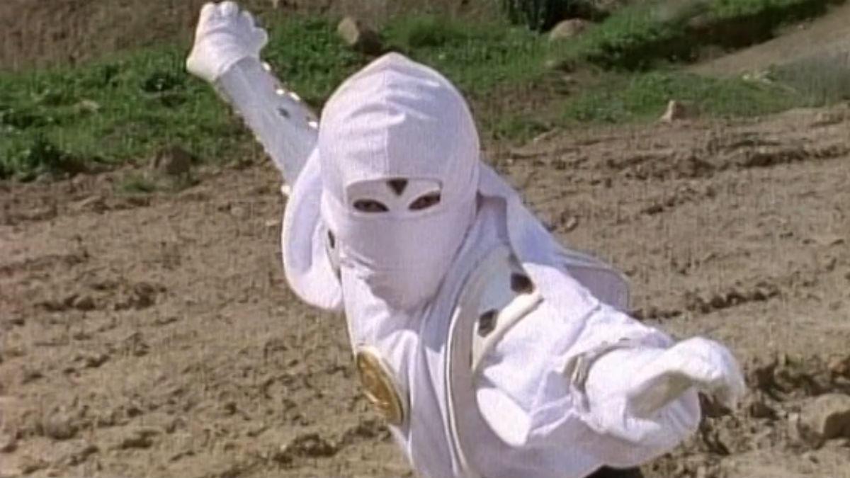 7. White Ninja Ranger