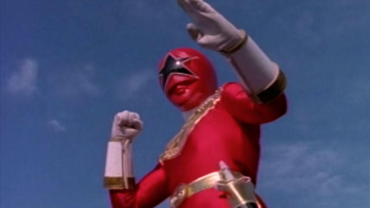 6. Zeo Ranger V: Red
