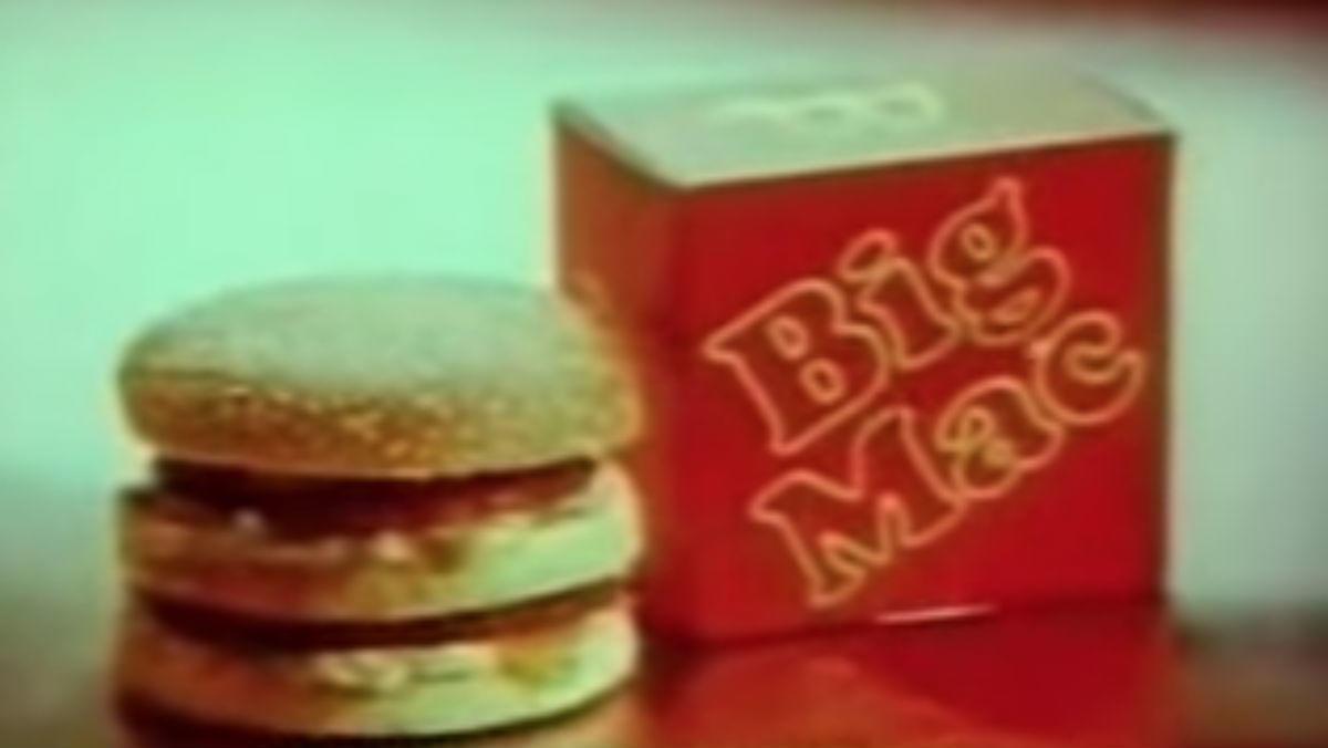 BEST: McDonald's Big Mac (1975)