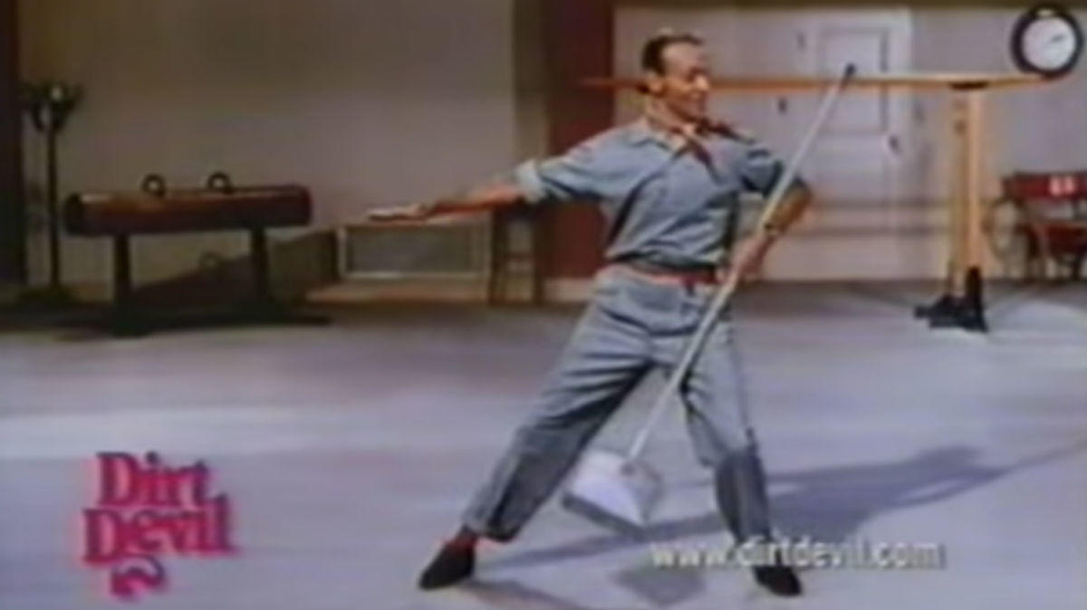 WORST: Fred Astaire's Dirt Devil dance (1997)