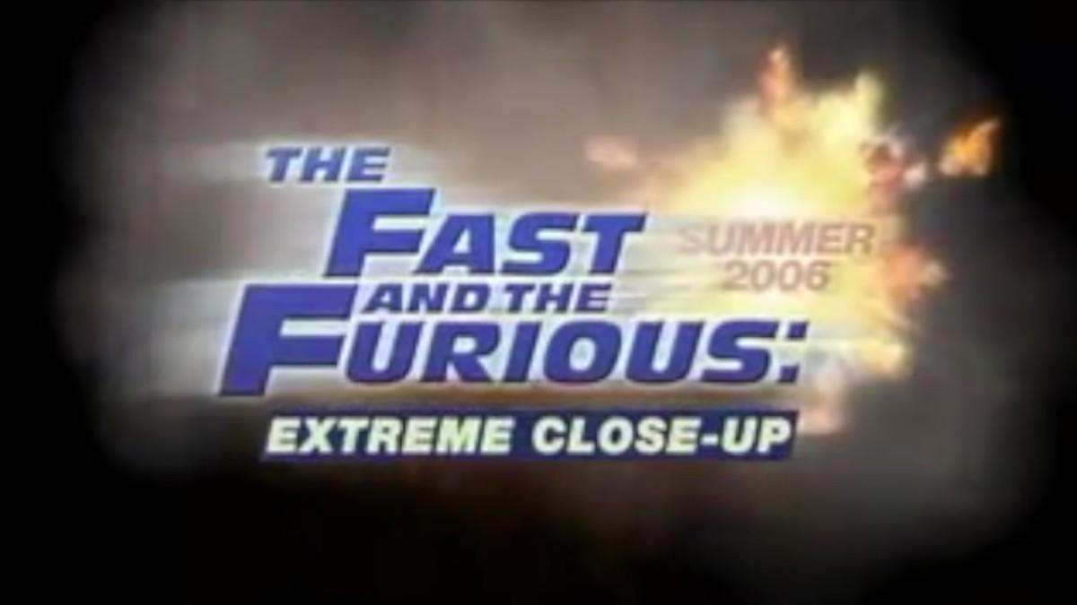 12. The Fast and the Furious: Extreme Close-Up