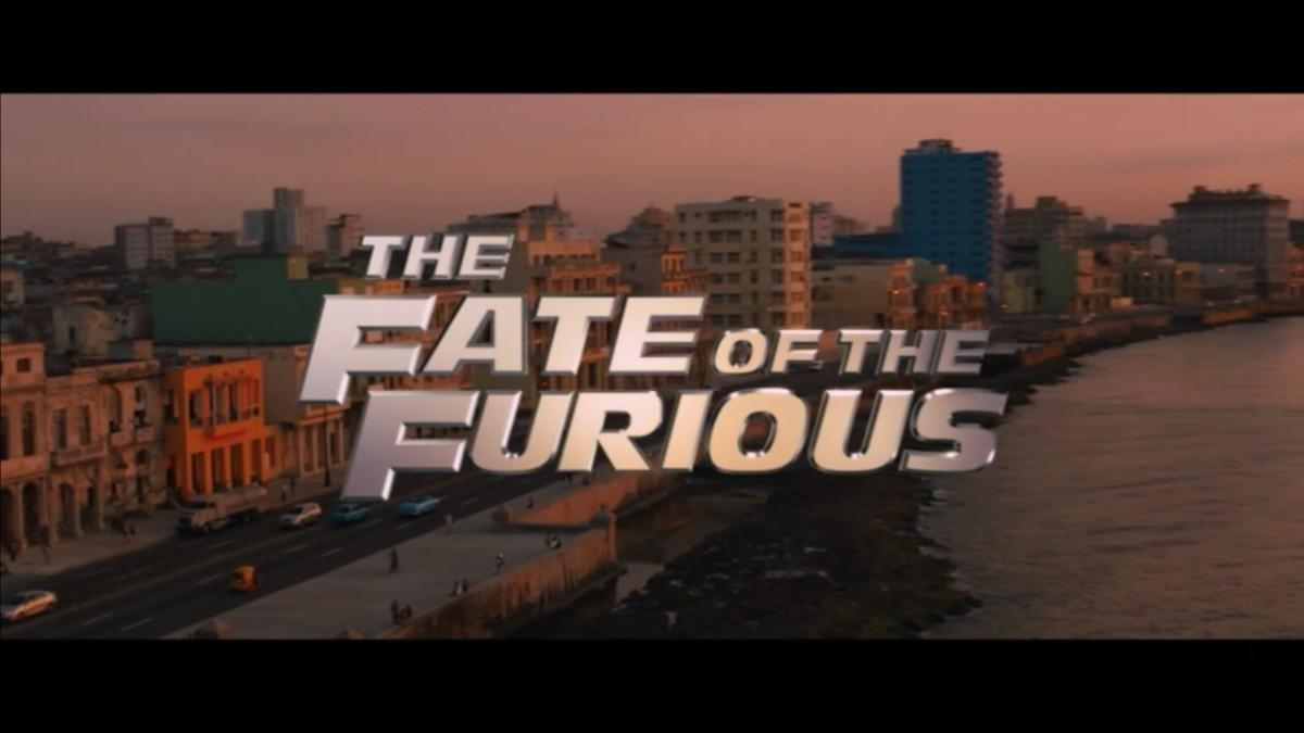 7. The Fate of the Furious