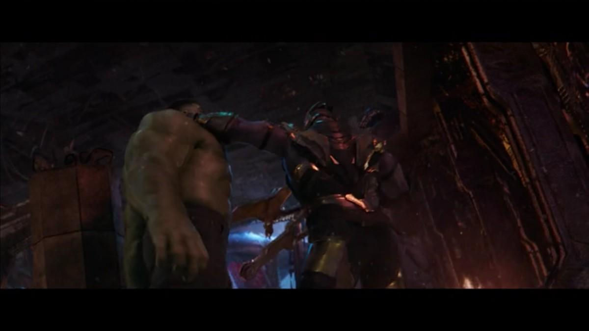 1. Why is Thanos so good at boxing?