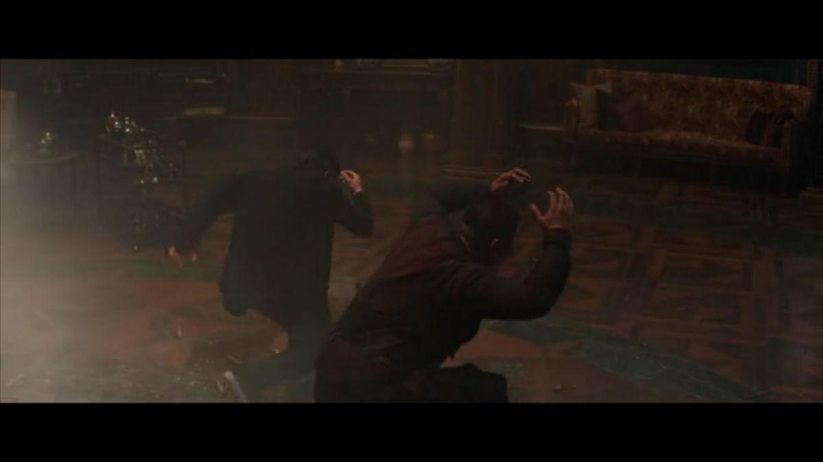 4. Why does Dr. Strange strike that super weird pose?