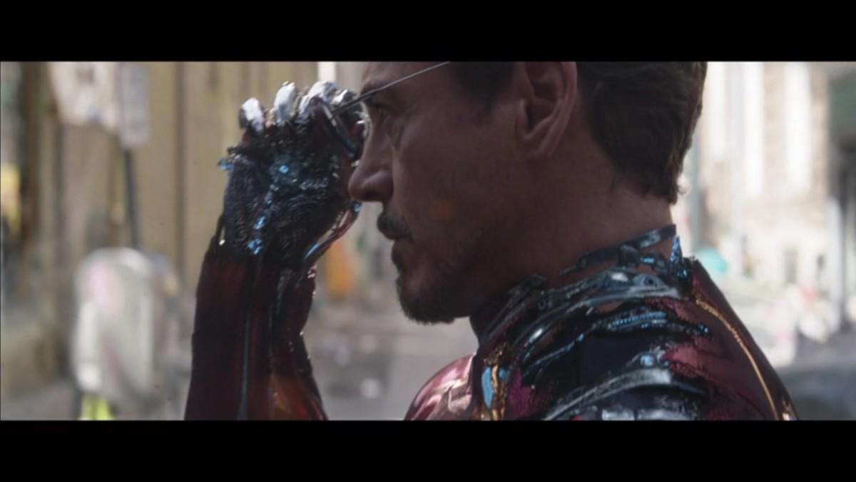 8. Are Tony Stark's sunglasses also nanotech? Because they disappear into his hand.