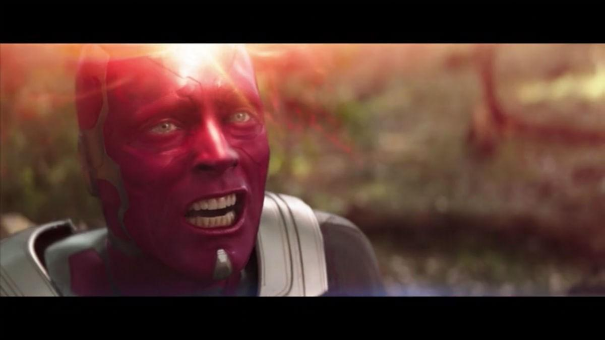 29. Why does Vision make this weird face?