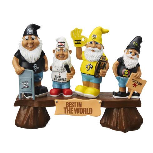 5. CM Punk's Garden Gnomes