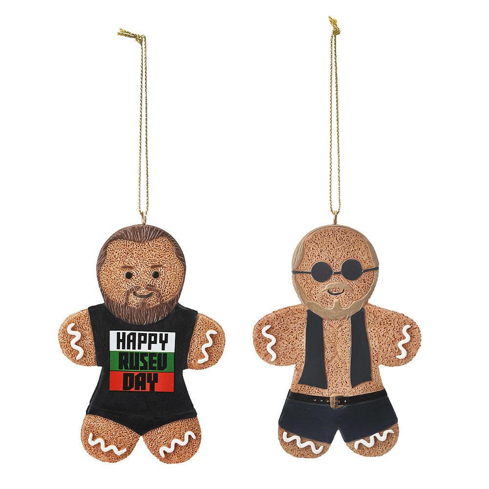 3. Gingerbread Man Holiday Ornaments