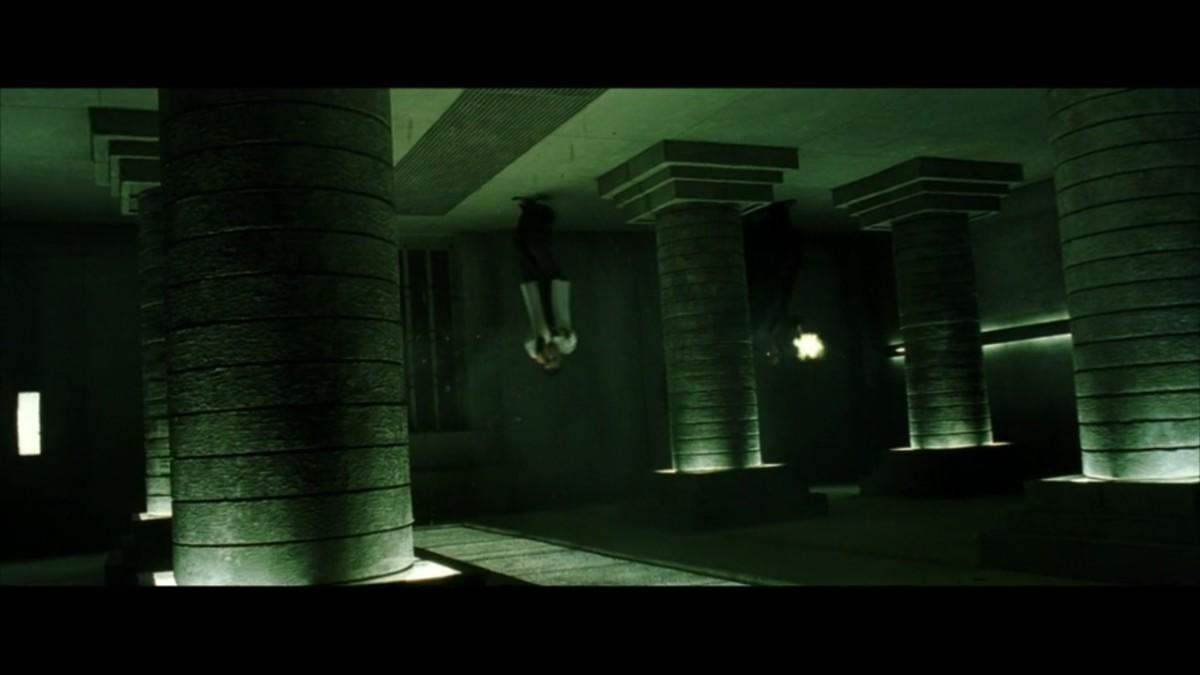 17. Even for the Matrix, ceiling walkers are a stretch