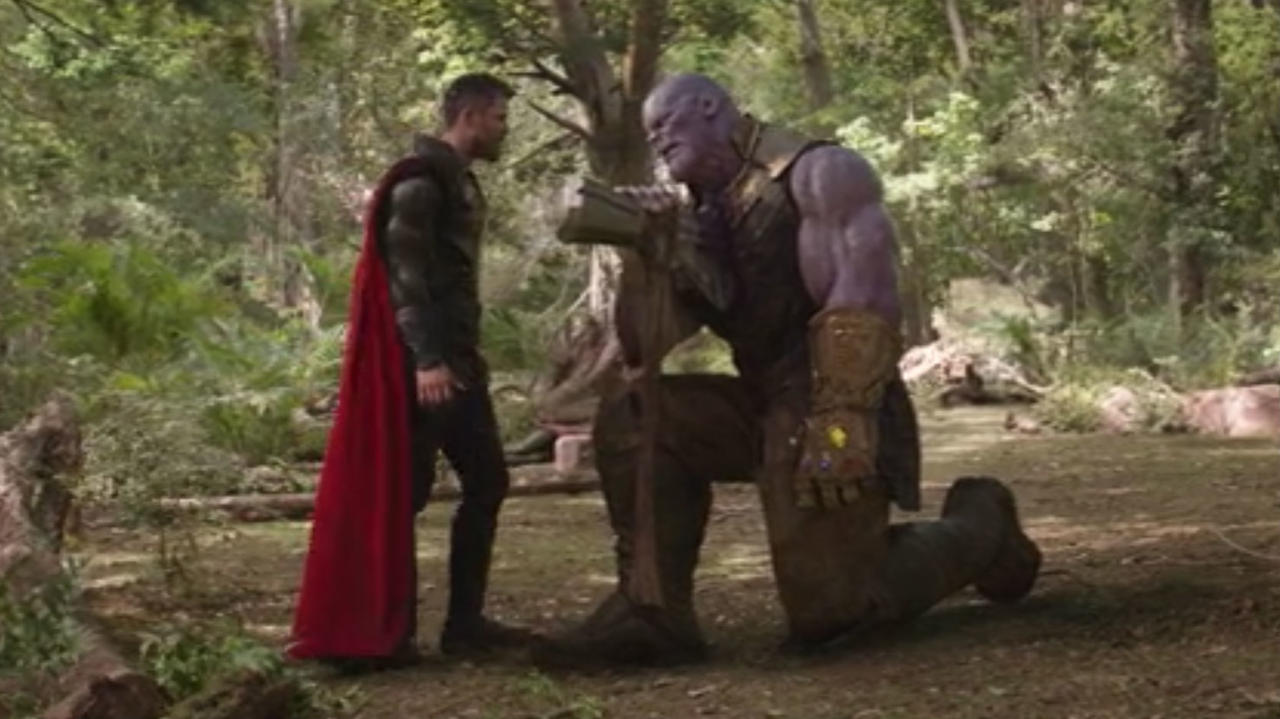 8. Thor Went For The Head