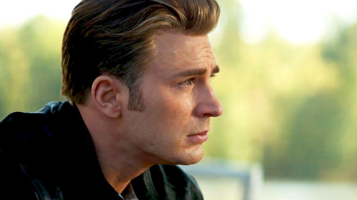 63. Captain America Crying In The Trailers Was Over Nat's Death