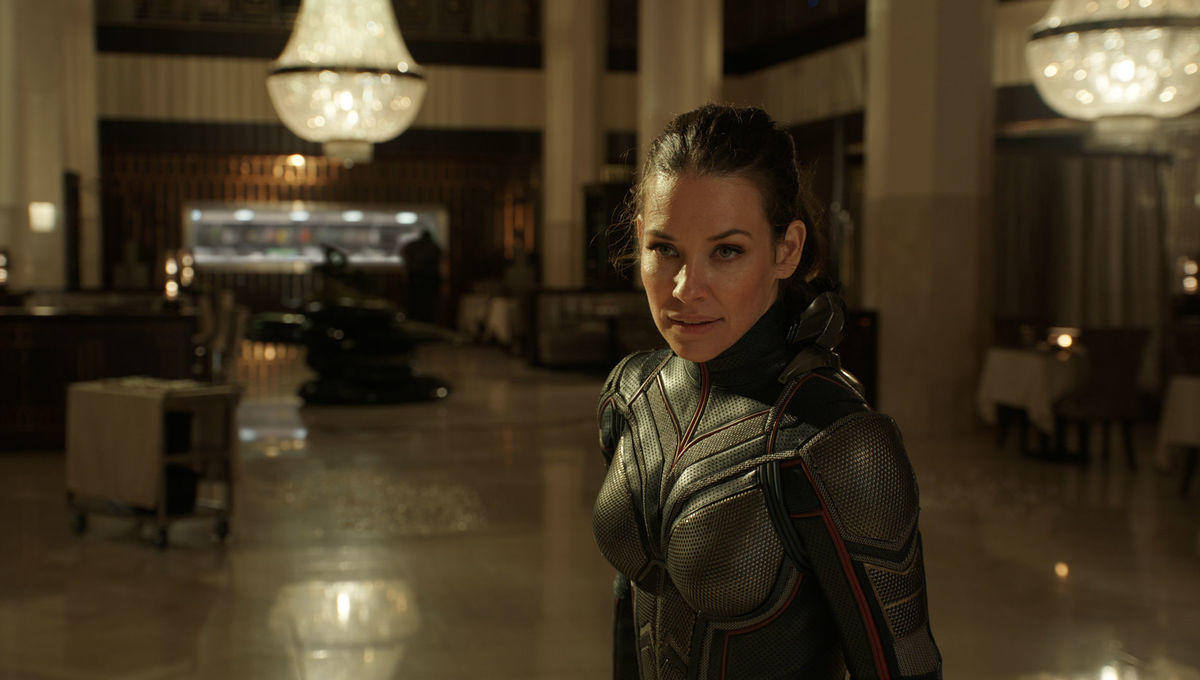 """62. Wasp Needles Ant Man About """"Cap"""""""