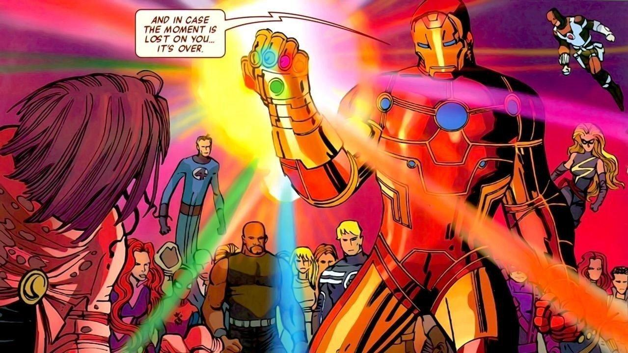 73. Tony and the Gauntlet