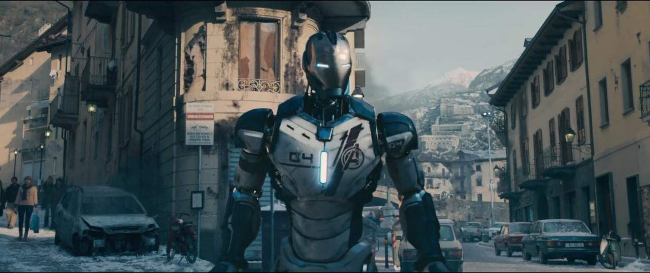 """1. """"A suit of armor around the world."""""""