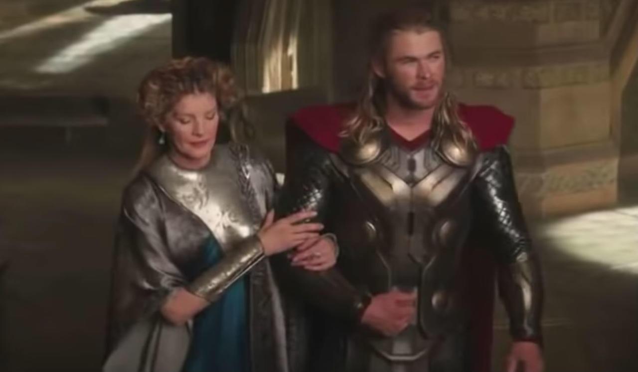 54. Frigga and Thor