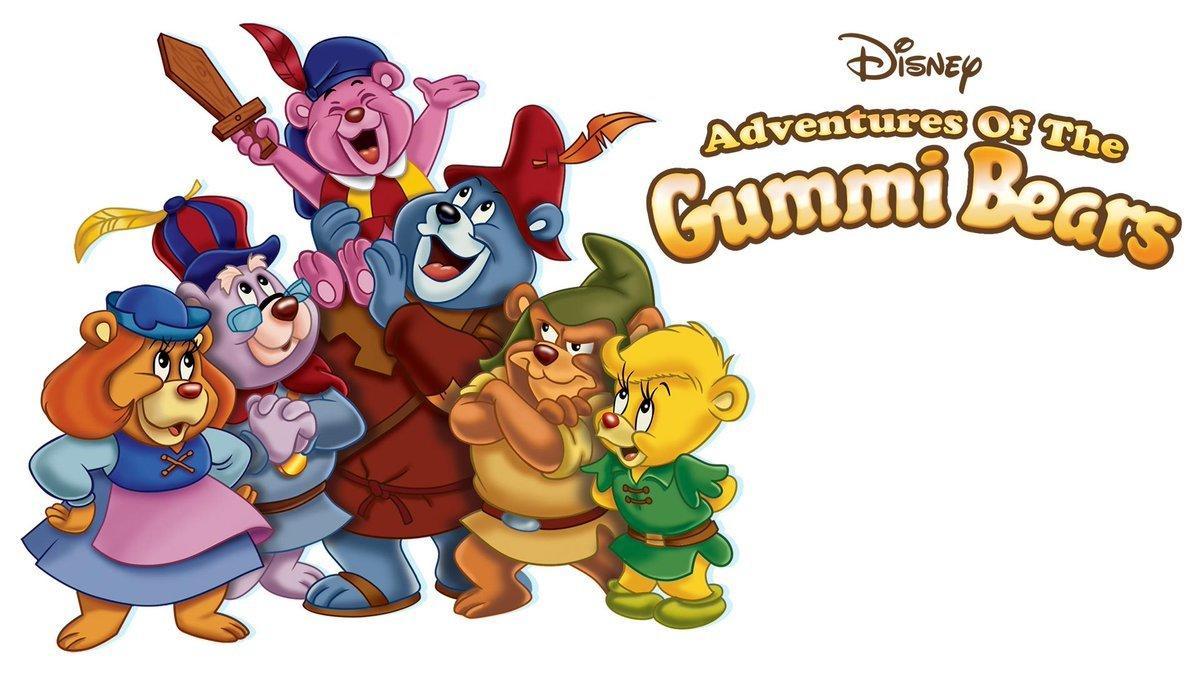 6. Adventures of the Gummi Bears (1985)