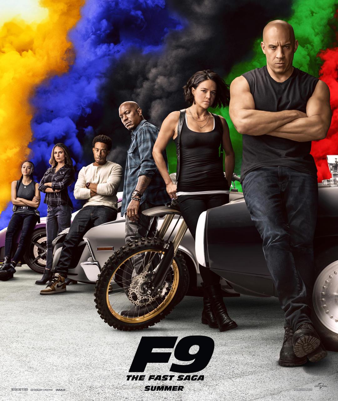 9. F9: The Fast Saga