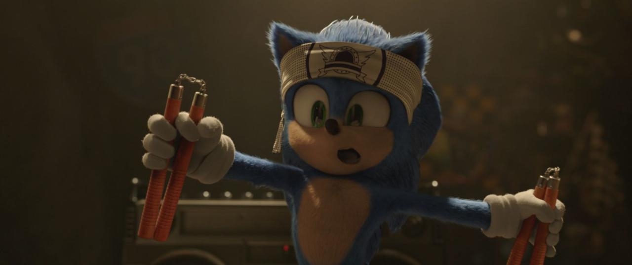 9. There's the Sonic logo