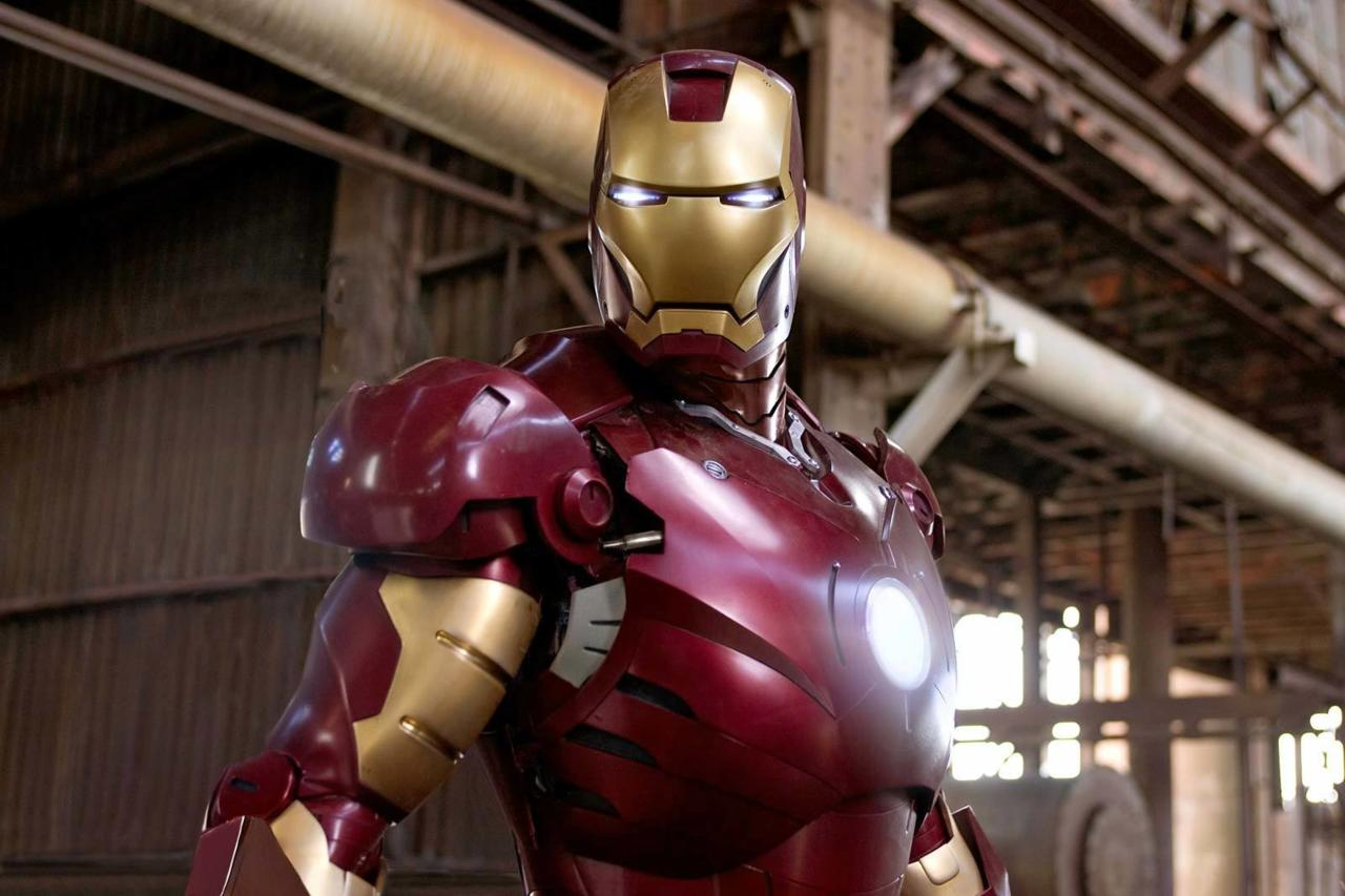 11. Iron Man