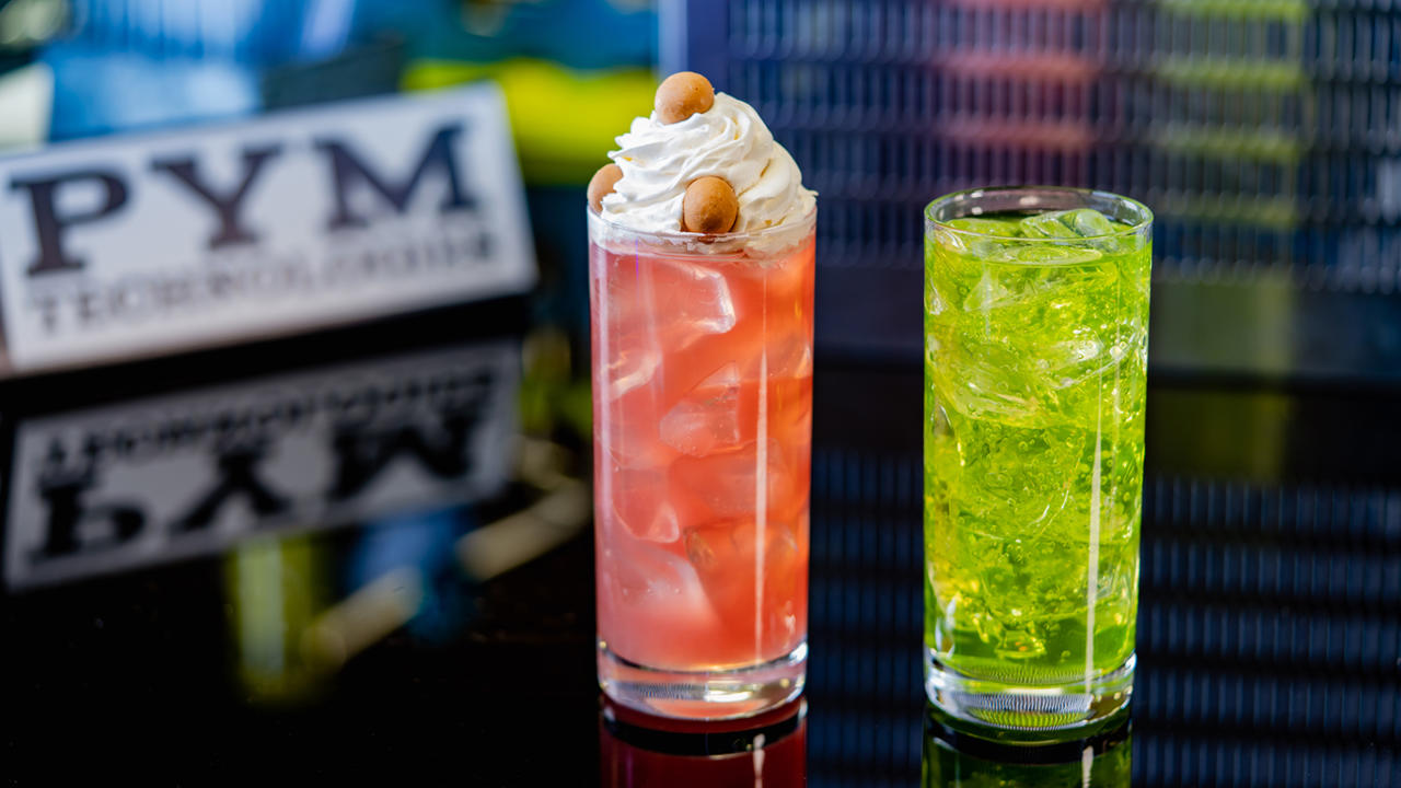 The non-alcoholic drinks