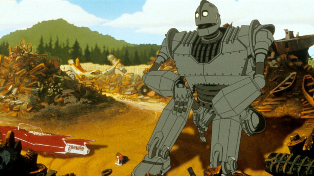 7. The Iron Giant
