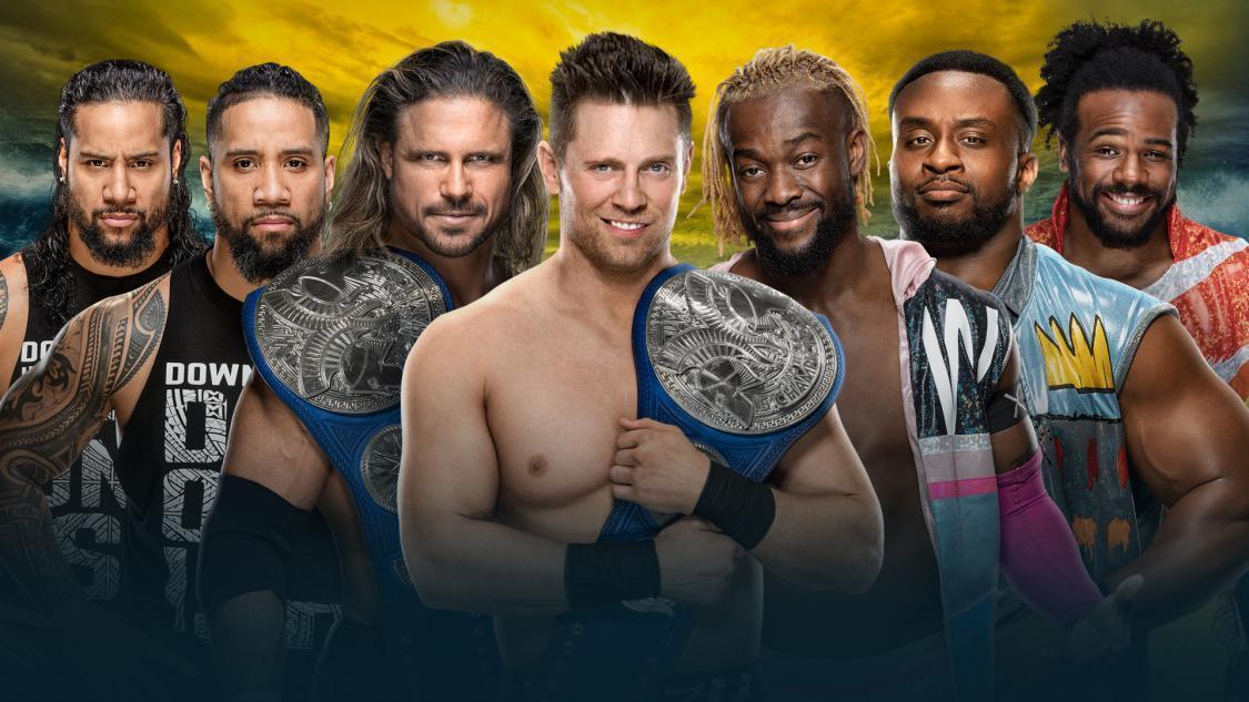 6. John Morrison (c) vs. Jimmy Uso vs. Kofi Kingston (Triple Threat Ladder Match for Smackdown Tag Team Championships)