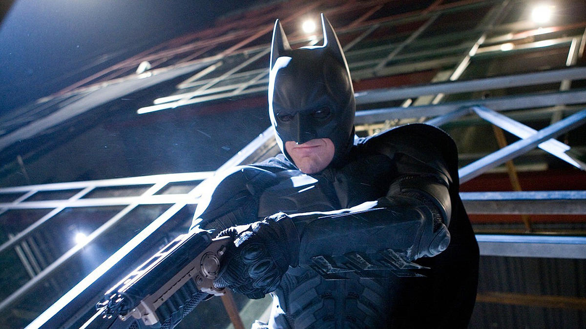8. Also, just watch his Batman movies