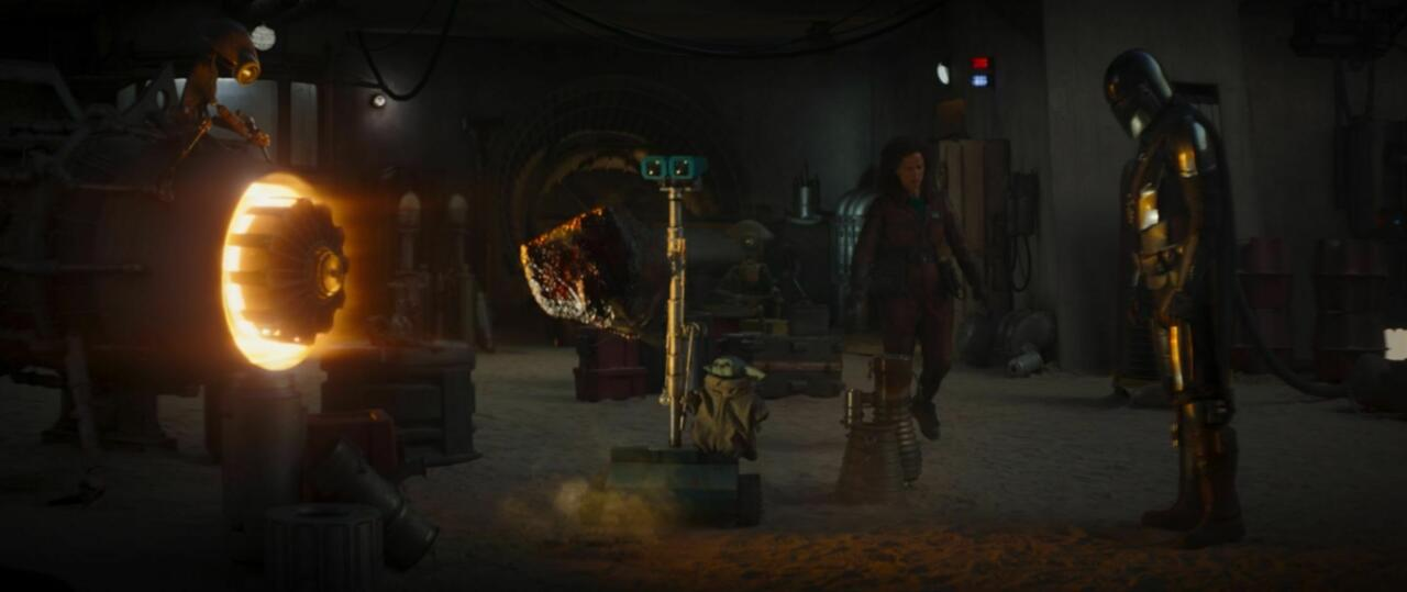 5. A very clever Galaxy's Edge Easter egg
