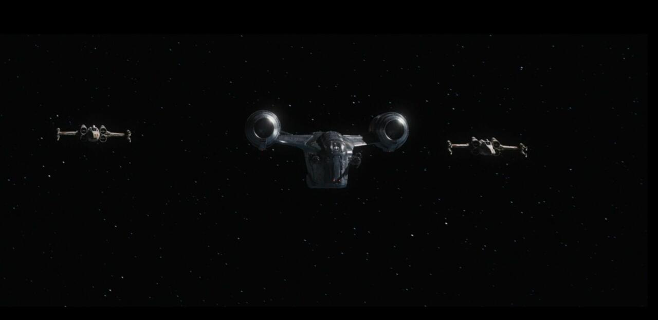 9. X-Wings join the party