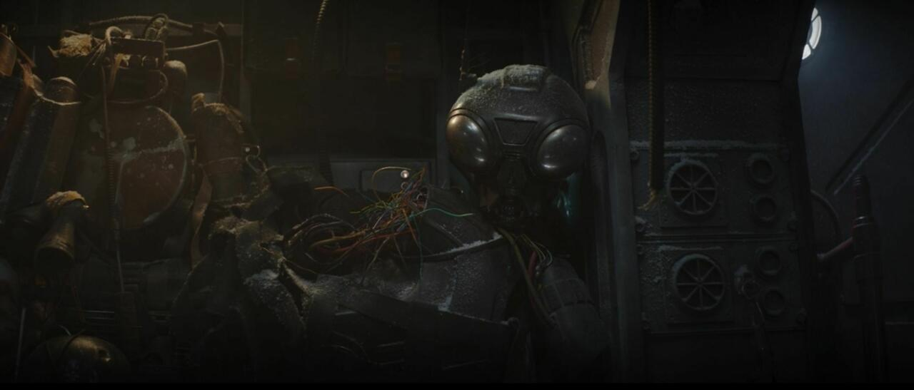 14. That busted droid looks familiar