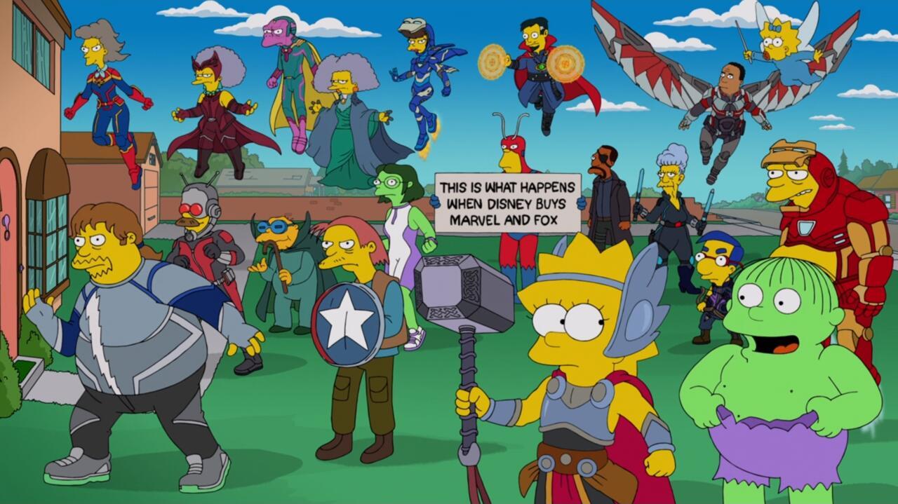 5. Springfield Avengers