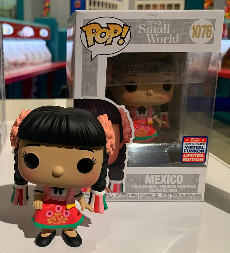 5. It's A Small  World: Child from Mexico