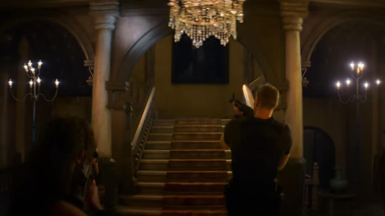 Inside Spencer Mansion