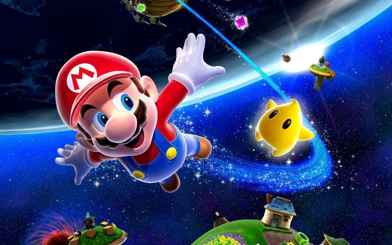Super Mario Galaxy -- November 1 (Japan) 12 (US), 2007