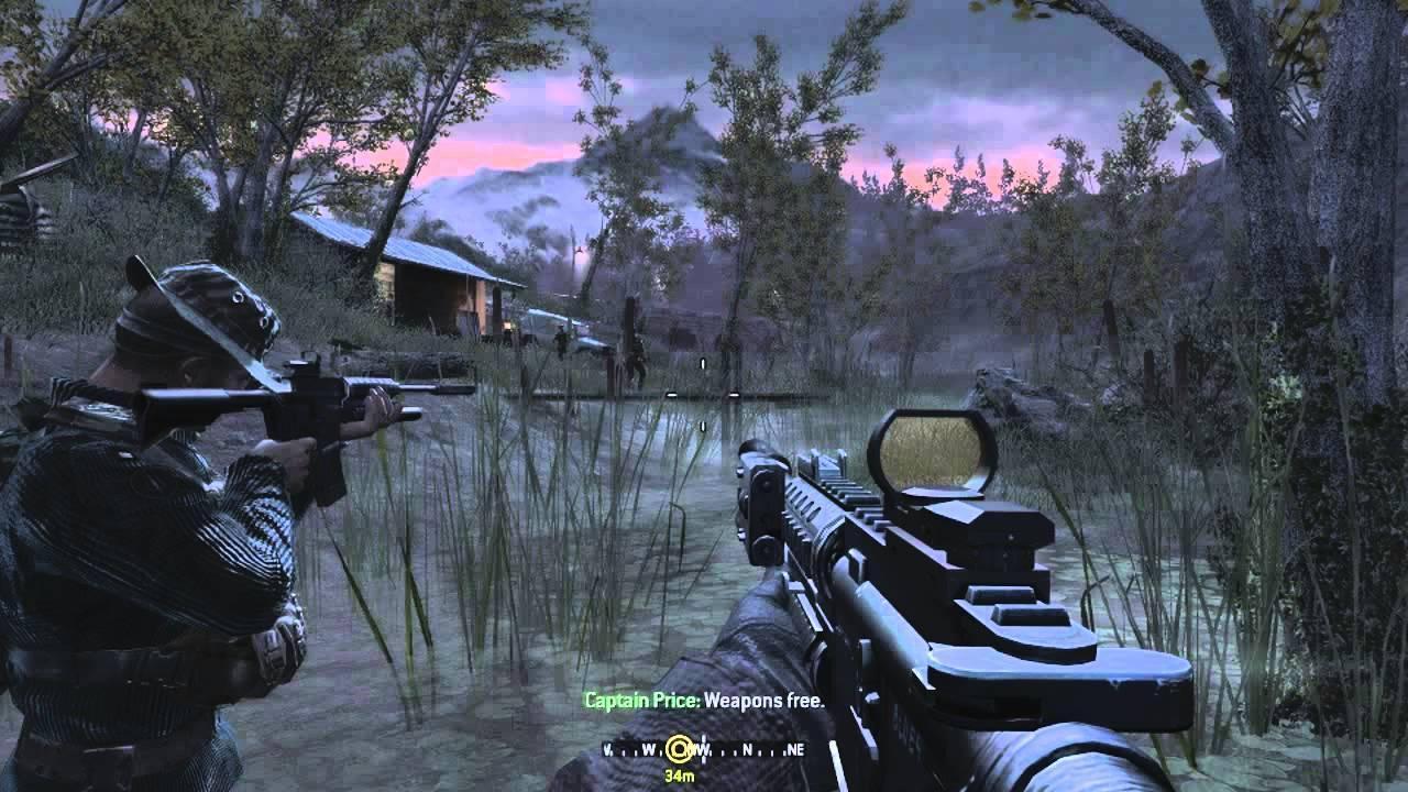 Call Of Duty 4: Modern Warfare -- November 5, 2007