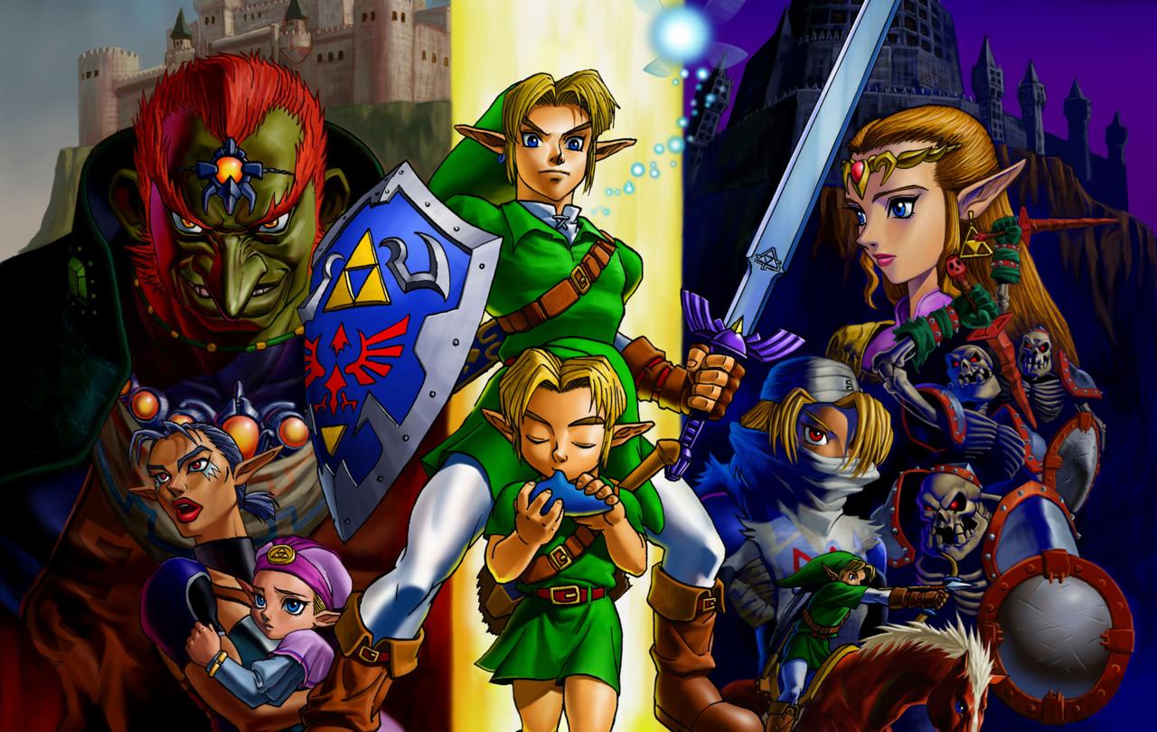 The Legend of Zelda: Ocarina of Time (November 23, 1998)