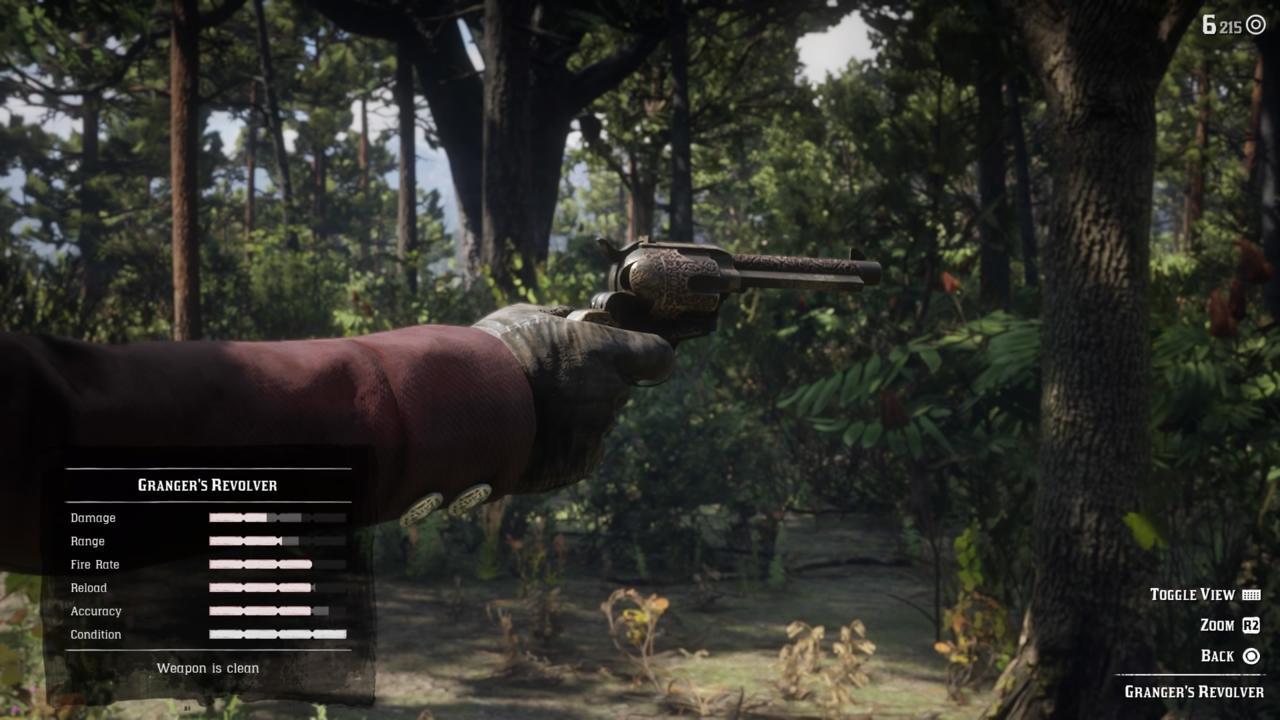 Firearm: Granger's Revolver