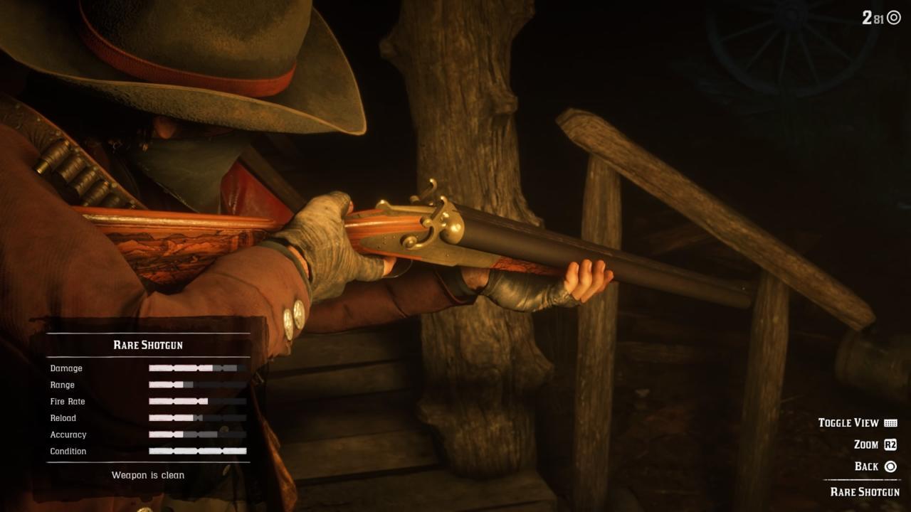 Shotgun: Rare Shotgun