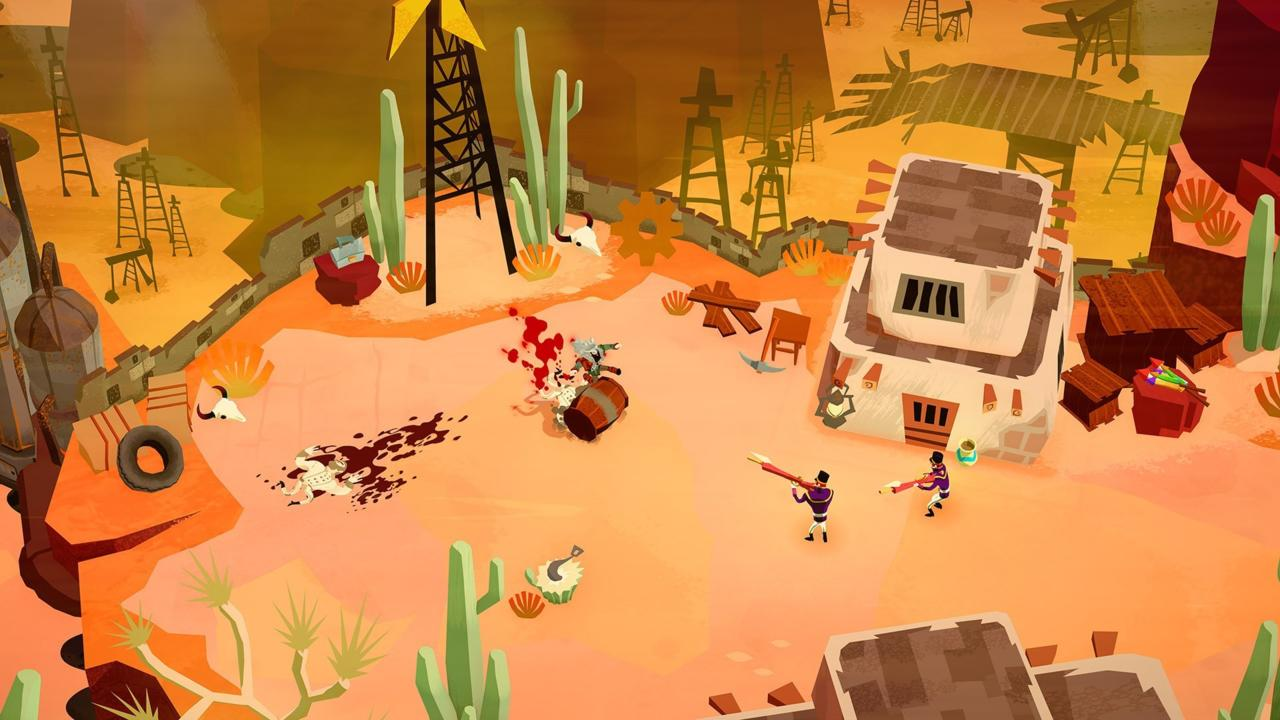 Bloodroots   PC, PS4, Xbox One, Switch   Paper Cult   Release: TBD 2019