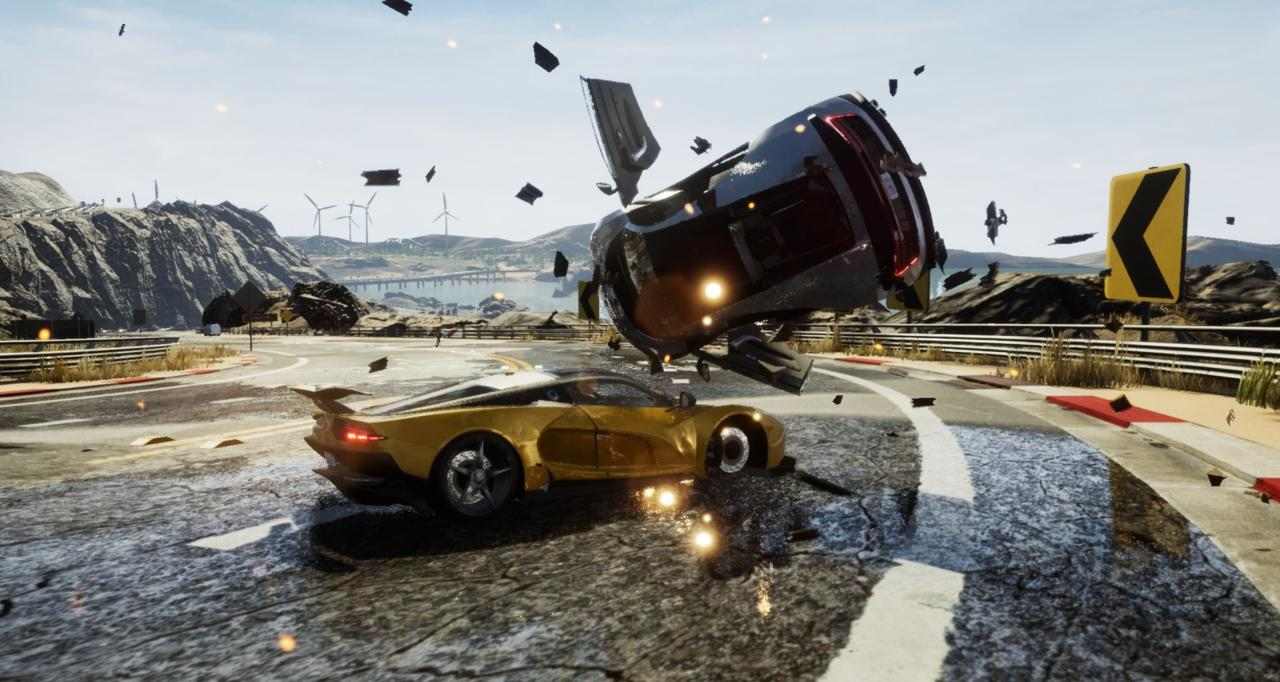 Dangerous Driving   PC, PS4, Xbox One   Three Fields Entertainment   Release: April 9, 2019