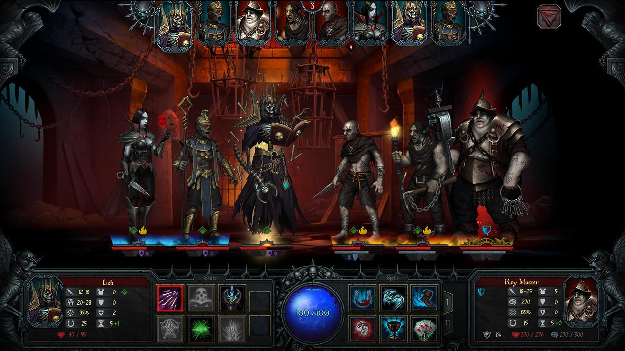 Iratus: Lord of the Dead   PC   Unfrozen   Release: TBD 2019