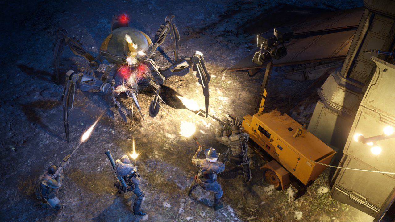 Your squad of Rangers will have to contend with all sorts of oddities in the wasteland.