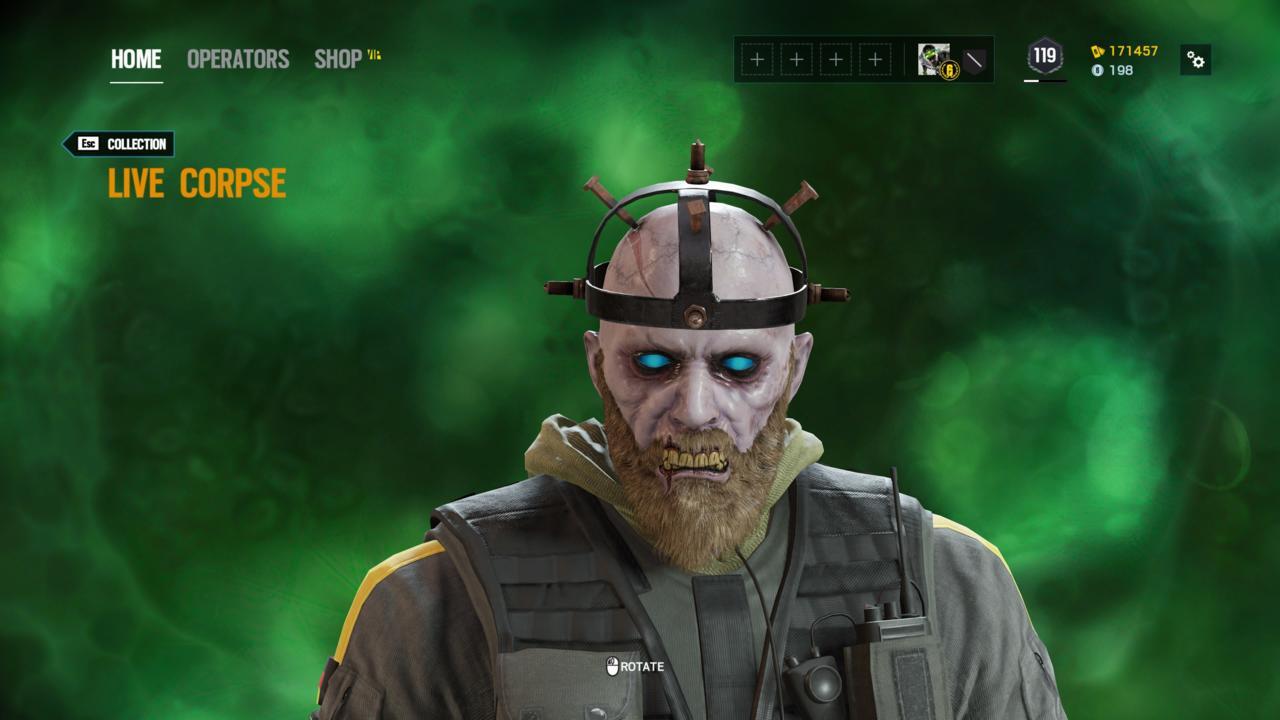 Operator: Bandit - Live Corpse (Head)