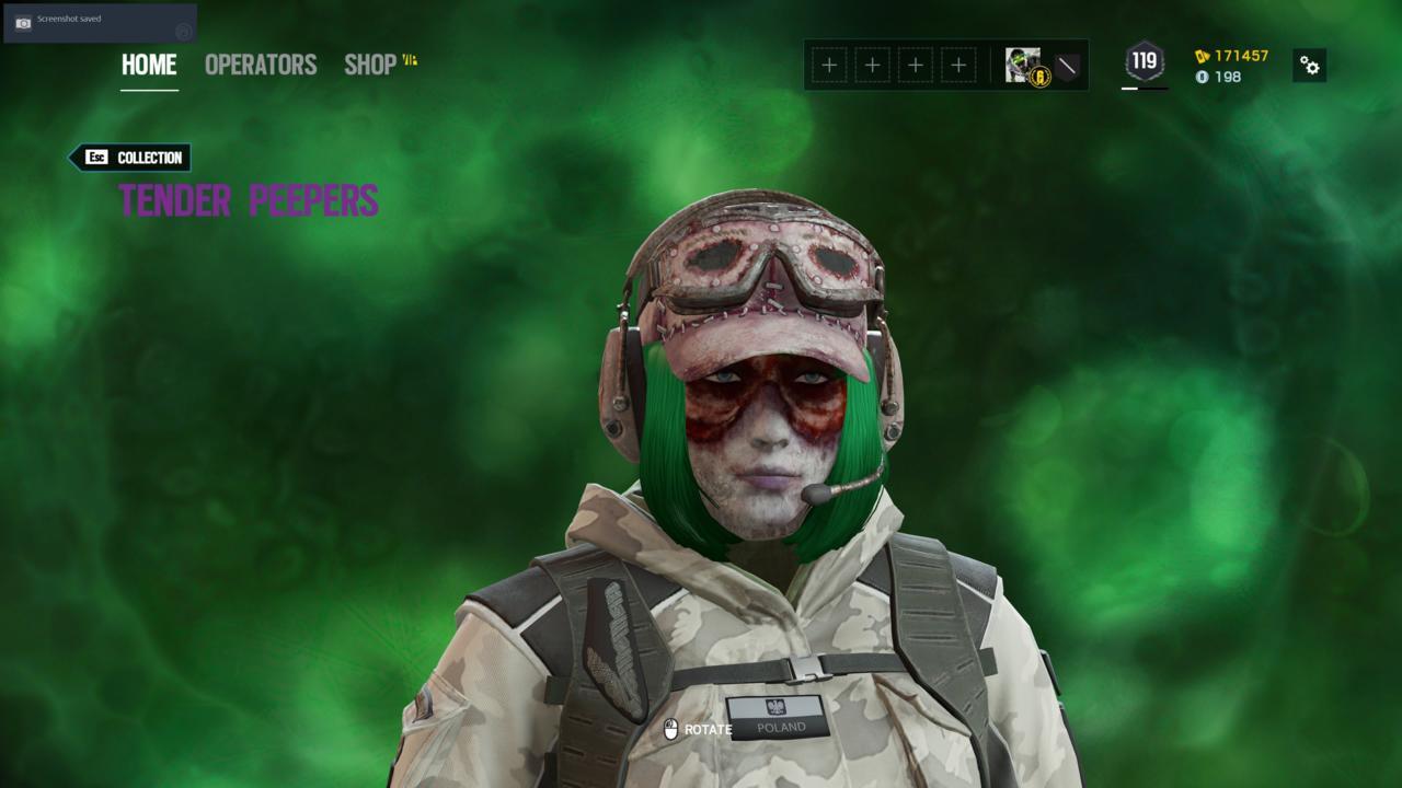 Operator: Ela - Tender Peepers (Head)